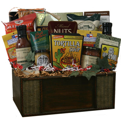 Lg Texas Gift Basket CC3014