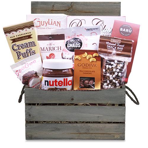 Med Chocolate Gift Basket CC3014