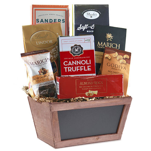 Sm Chocolate Gift Basket CC3014