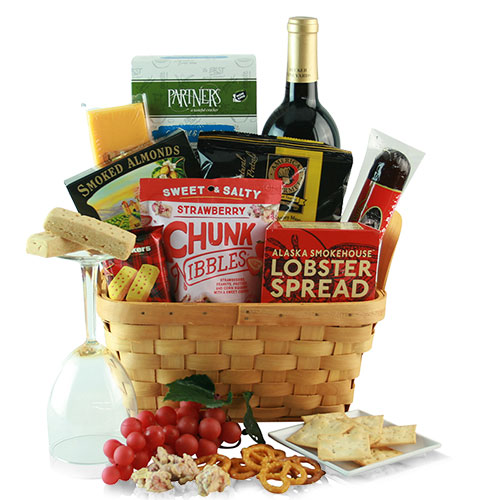 Cheers to Dad Fathers Day Gift Basket
