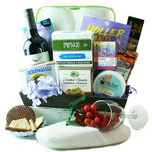 Cheers to Mom Mothers Day Wine Basket