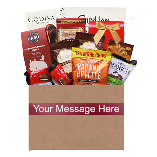 Med Chocolate Gift Basket CHOCBX