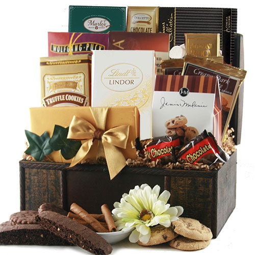 Chocolate Celebrations Chocolate Gift Basket
