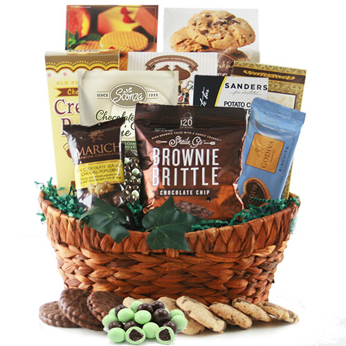 Chocolate Crunch Chocolate Gift Basket