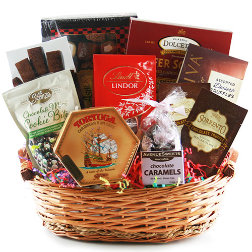 A Chocolate a Day Chocolate Gift Basket