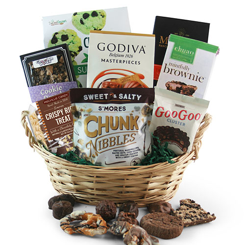 Chocolate Works Chocolate Gift Basket