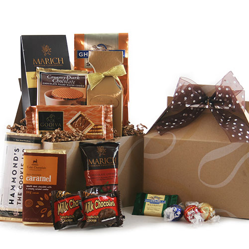 Chocolate Wishes Chocolate Gift Basket