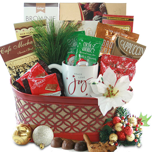 Chocolate Christmas Gift Basket
