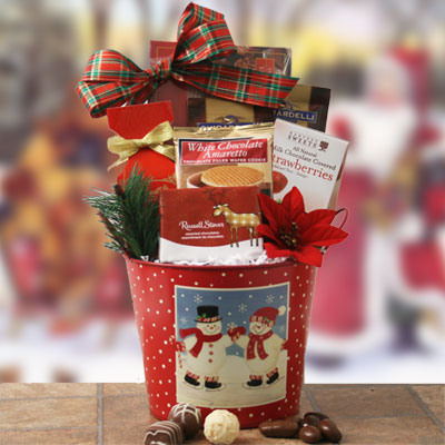 Christmas Celebrations Christmas Gift Basket