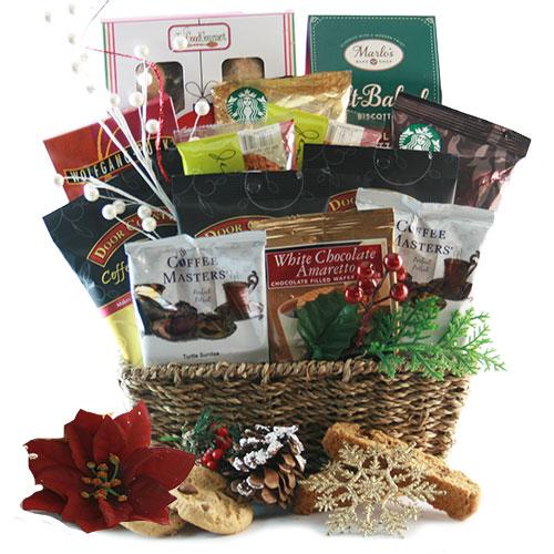 Christmas Coffee Classic Christmas Gift Basket