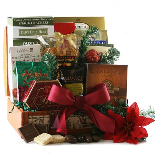 Christmas Gala Christmas Gift Basket