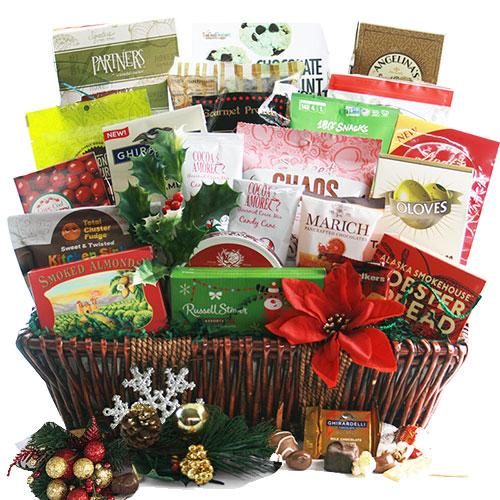 Christmas Gala Treasures Christmas Basket