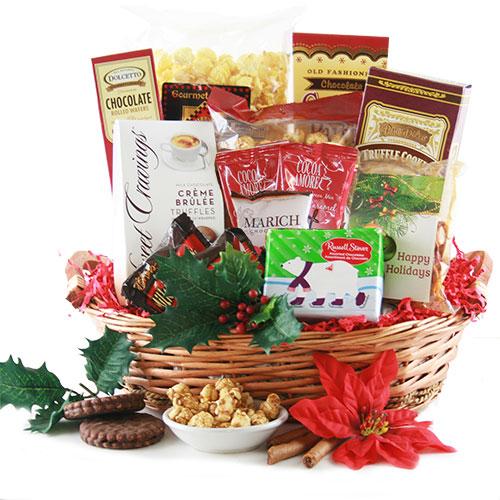Christmas Splendor Christmas Gift Baskets