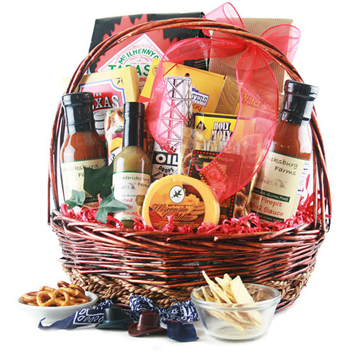 Chuckwagon Texas Gift Basket