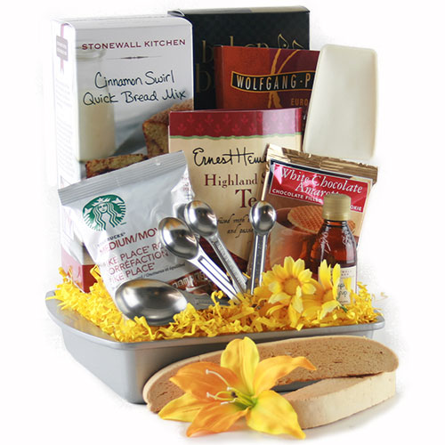 Cinnamon Special Breakfast Gift Basket