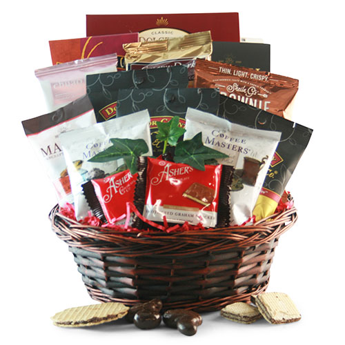 Chocolate Coffee Chocolate Gift Basket