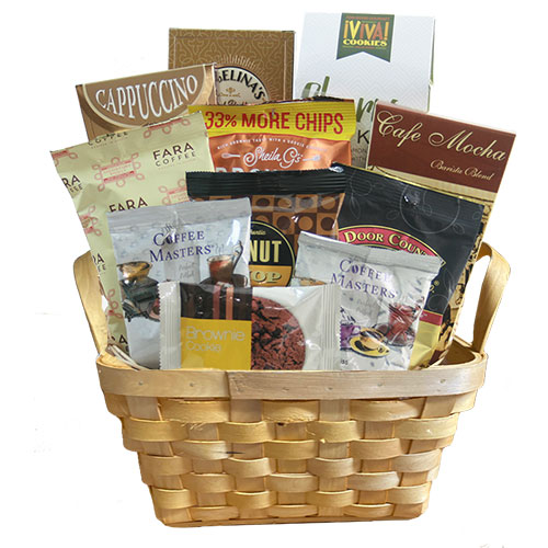 Coffee Rush Coffee Gift Basket
