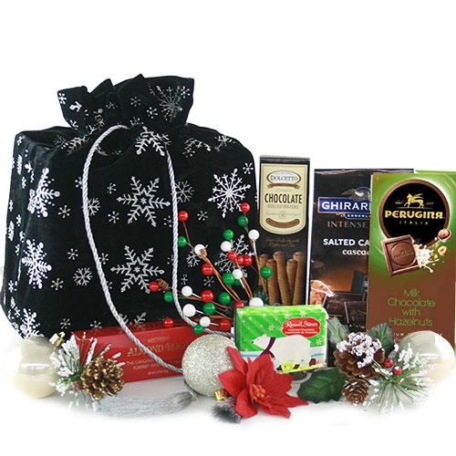 Its Cold Outside Christmas Gift Basket