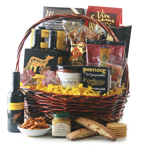 Colossal Thank You Thank You Wine Gift Basket