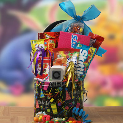Candy Concert iPod Gift Basket