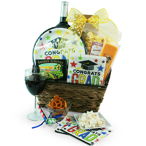 Congrats to the Grad Gift Basket
