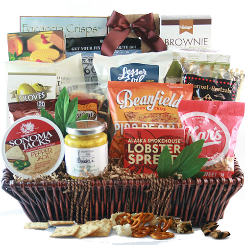 Corporate Poker Gift Basket