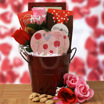 Cupid s Confections Valentines Day Gift Basket