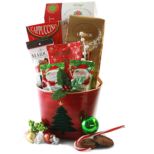 Dashing Through The Snow Christmas Gift Basket