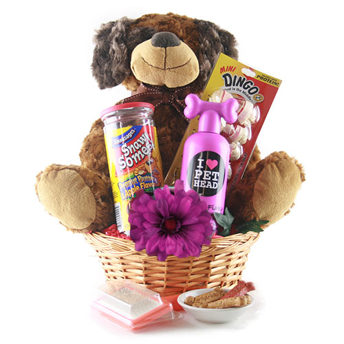 Dog Eat Dog World Pet Gift Basket Dog