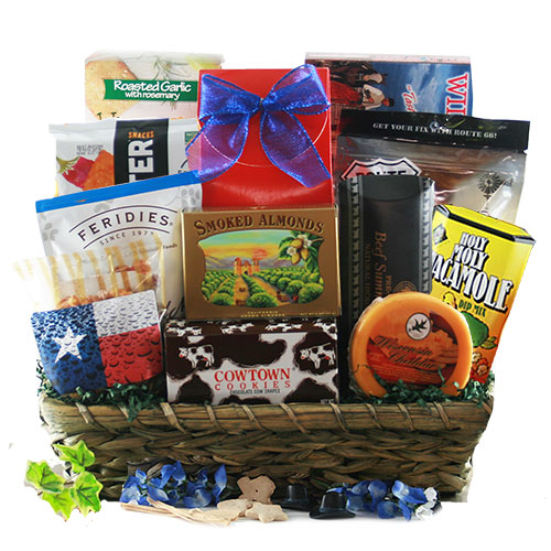 Dont Mess With Texas Texas Gift Basket