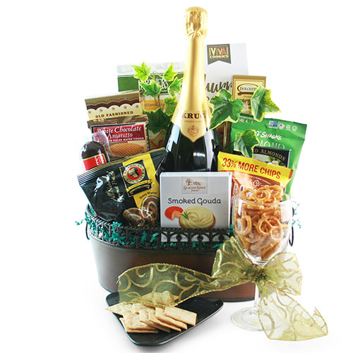 Dressed To Impress Wine Gift Basket