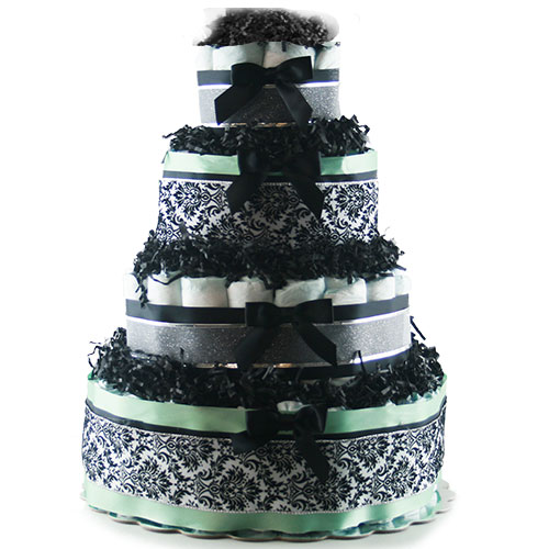Elegant Baby Diaper Cake