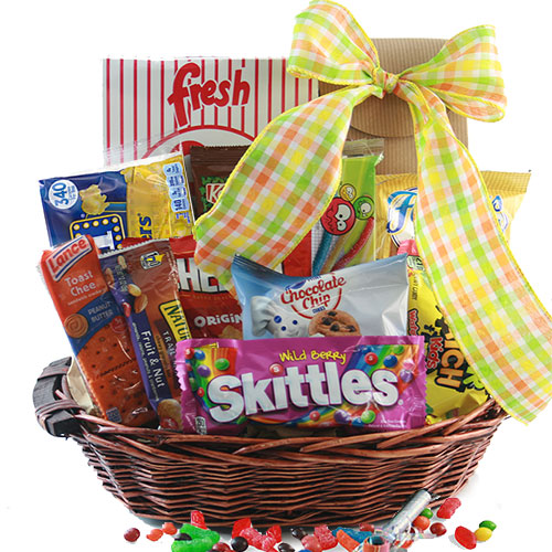 Make Yourself Gift Basket Ideas: Snack Gift Baskets: Endless Edibles Snack Gift Basket
