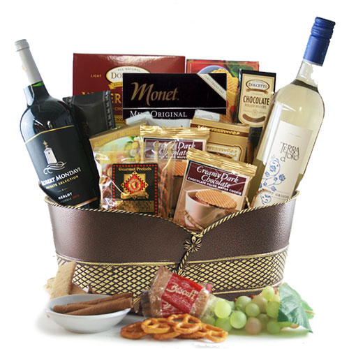 The Executive Wine Gift Basket