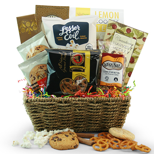 Executive Snacker Snack Gift Basket