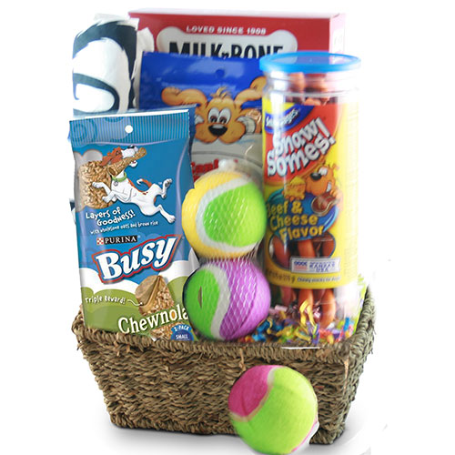 Faithful Friend Pet Gift Basket Dog
