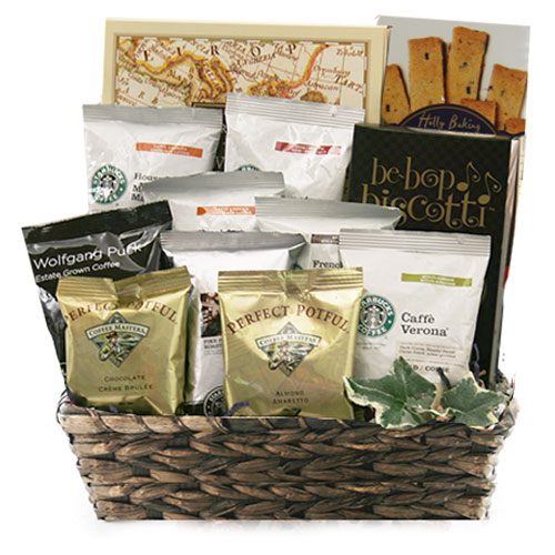 Fields of Coffee Coffee Gift Basket
