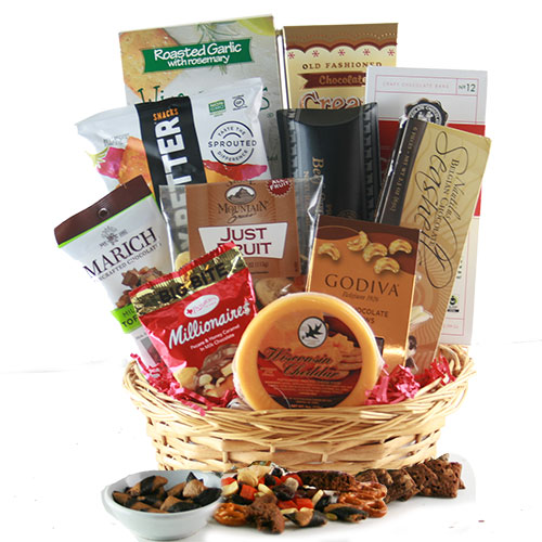 Fields of Chocolate Snacks Gift Basket