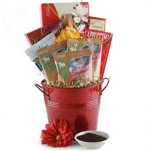 Caffiene Fiend Admin Day Gift Basket