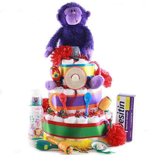 Fiesta Baby Diaper Cake