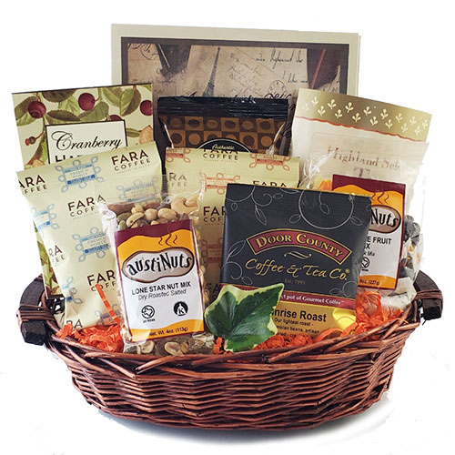 Filled to the Brim Coffee Gift Basket