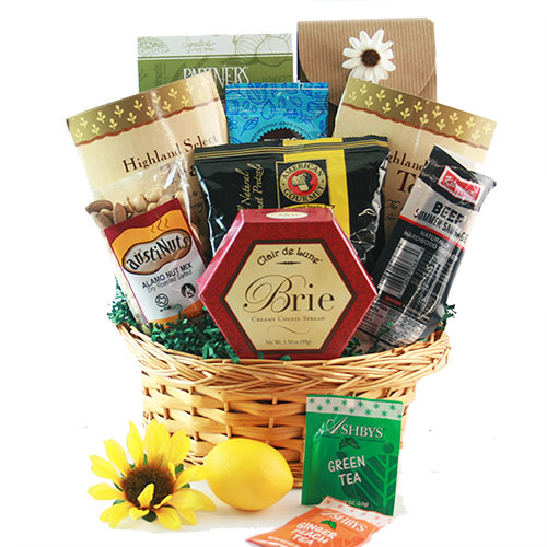 The Finer Things Tea Gift Basket