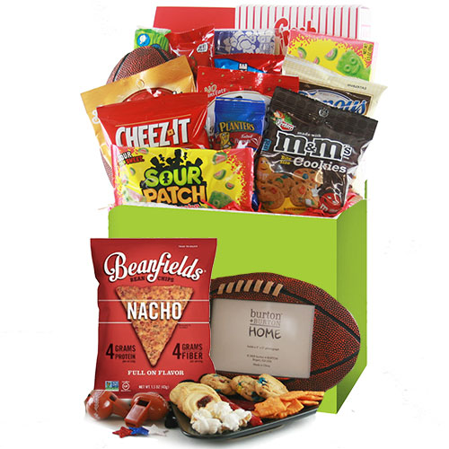 Football Fan Sports Gift Basket