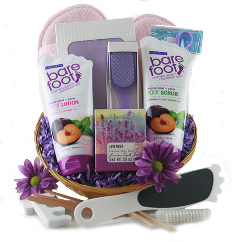Foot Fetish Spa Gift Basket