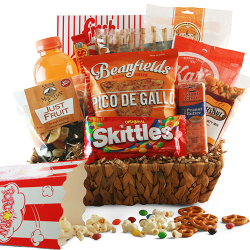 Free Throw Rockets Sports Gift Basket