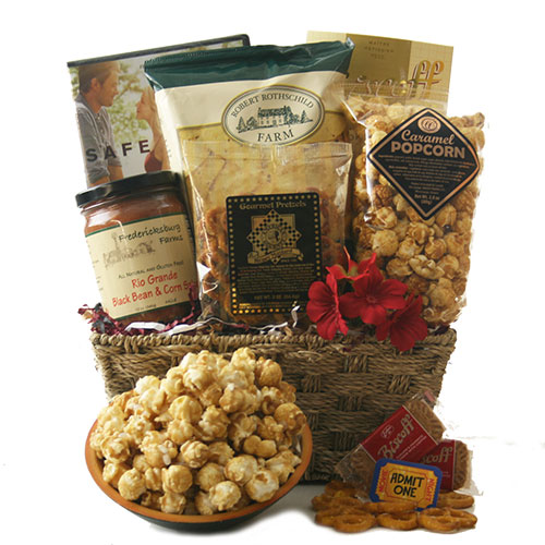 Friday Night Flicks Movie Gift Basket