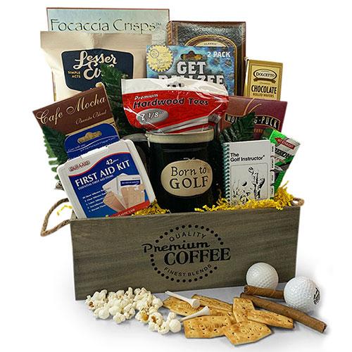 Golf Gift Baskets Front 9 Golf Gift Basket Diygb