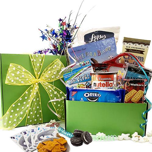Fun Games Kid Gift Basket