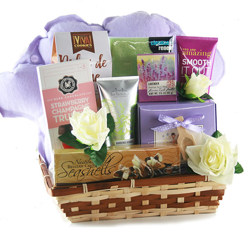 Spa Getaway Spa Gift Basket