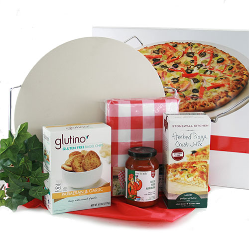 Healthy gift baskets organic gluten free kosher diygb gluten free pizza kit br pizza making kit negle Image collections